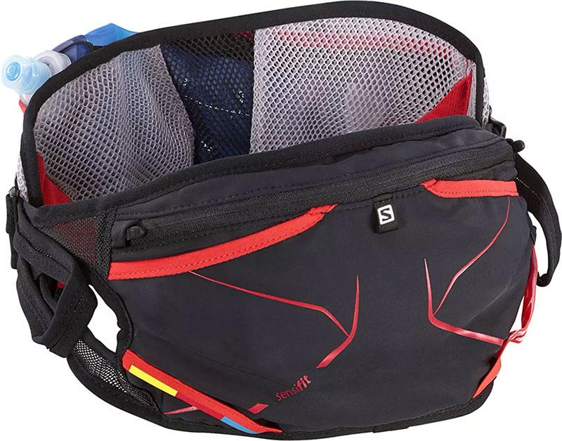 Многофункциональная сумка для бега с несколькими карманами и отсеками Salomon Advanced Skin S-Lab 3