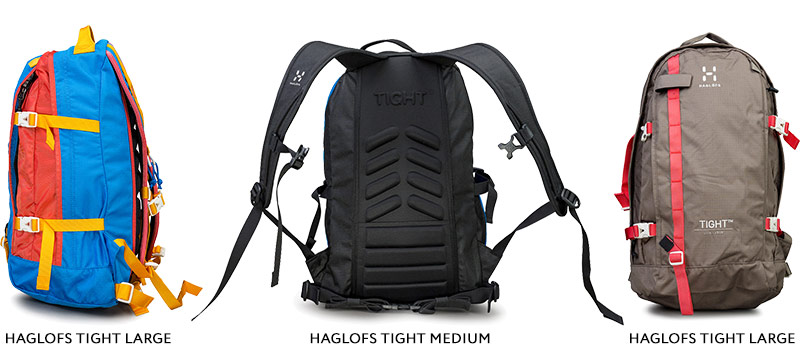 Рюкзаки Haglofs Tight Large и Haglofs Tight Medium