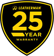 Leatherman 25 лет гарантии (25 year guarantee)