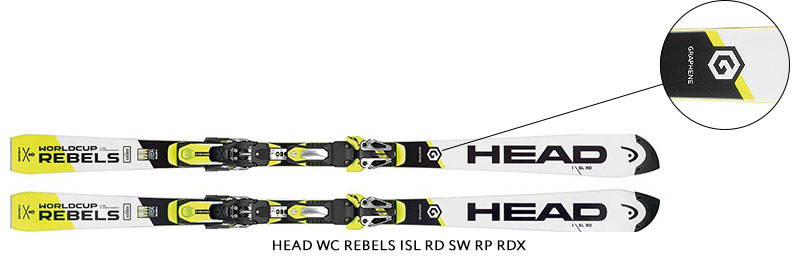 Head WC Rebels iSL RD SW RP RDX