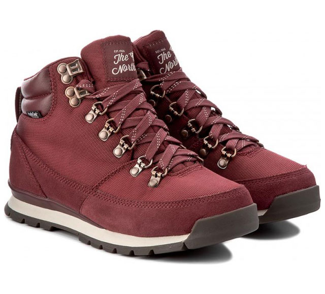 Ботинки женские The North Face Back-To-Berkeley Redux Barolo Red/Vintage White