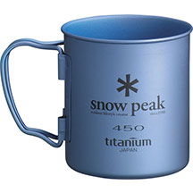 Кружка Snow Peak Titanium Single 450 Blue