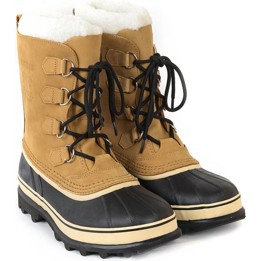 Лыжные ботинки из натуральной кожи подкрепление