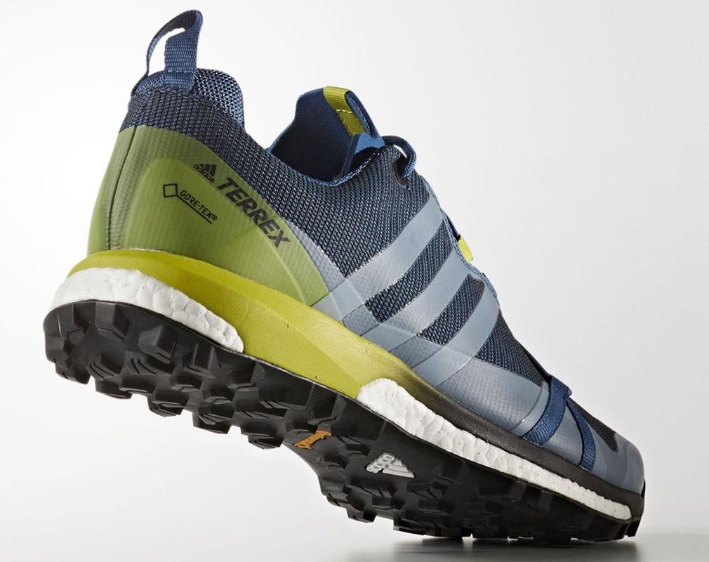 989c00c7 Новая модель кроссовок для трейл-раннинга Terrex Agravic GTX с технологией  Boost