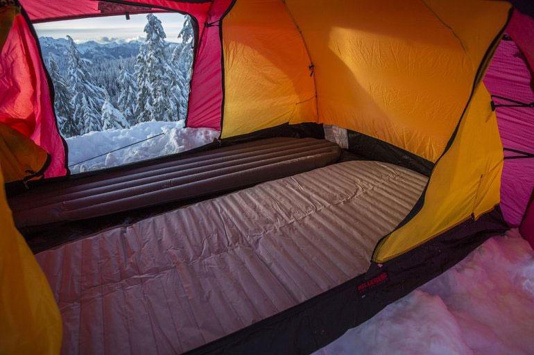 Дно 2-местной всесезонной палатки Hilleberg Allak