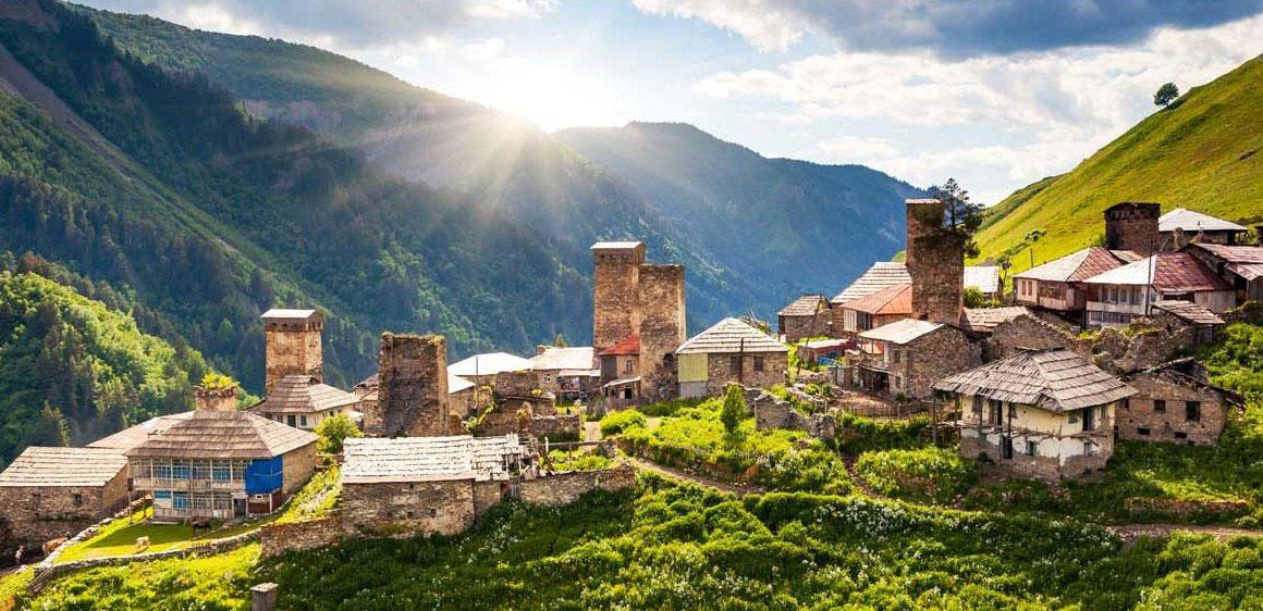 Село Адиши © georgia4you.ge