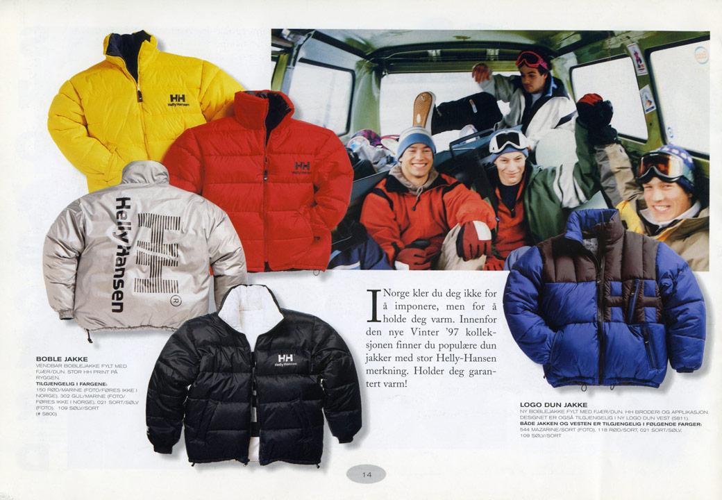 В 1990-е годы одежда HH приобретает большую популярность среди молодёжи и  поклонников techwear. На этом поприще Helly Hansen и тогда, и сегодня на  равных ... 188e7a6929d