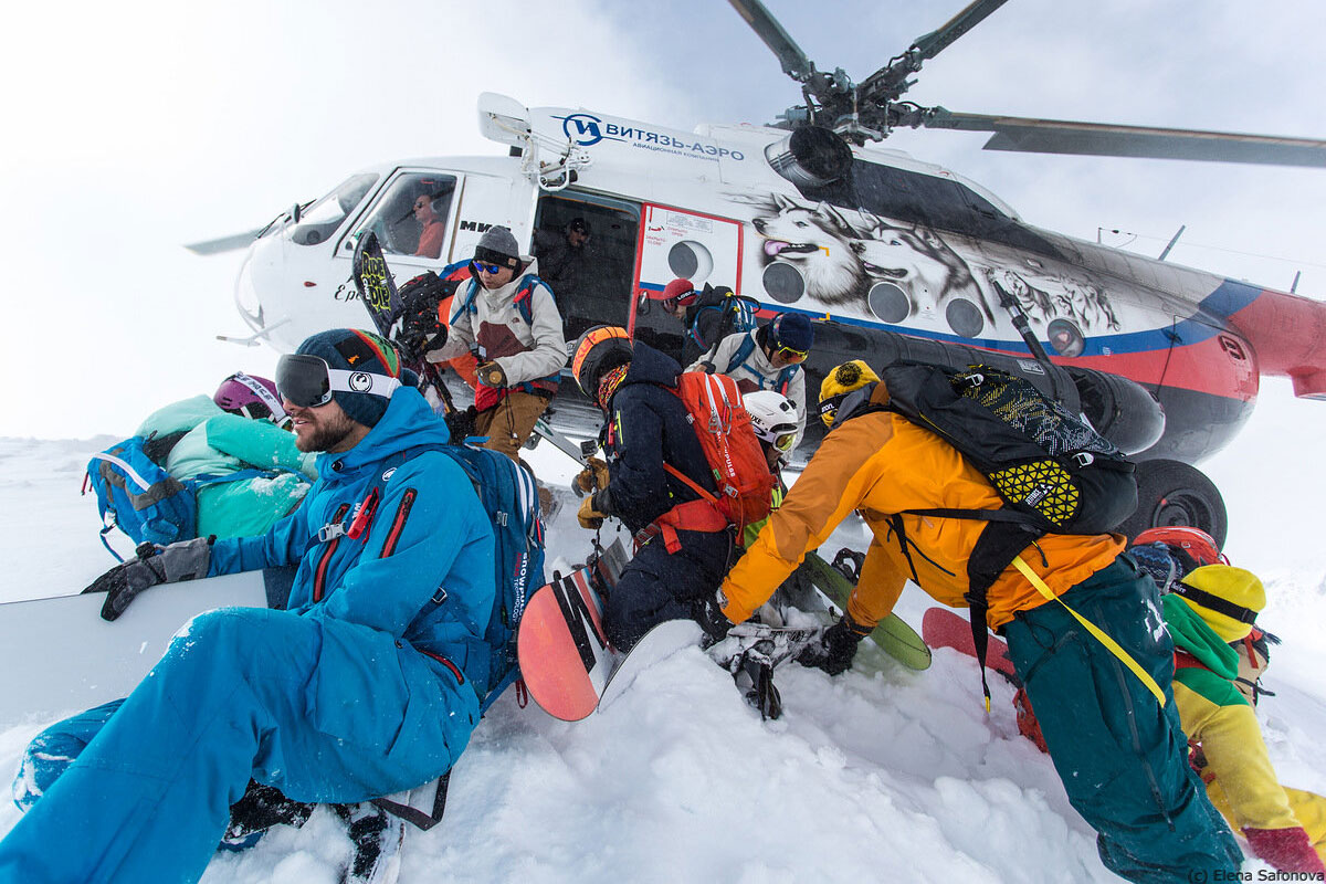 Kamchatka freeride community