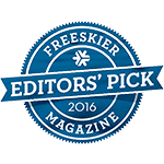 Freeskier Magazine Editor's pick 2016