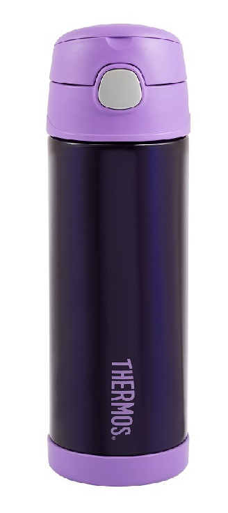 Термос Thermos FUNtainer® Drink Bottle 470 Purple - Фото 1 большая