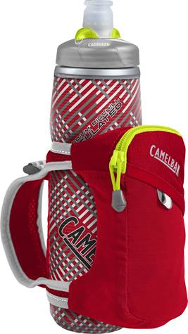 Фляга CamelBak Quick Grip Chill 620 Crimson Red/Lime Punch