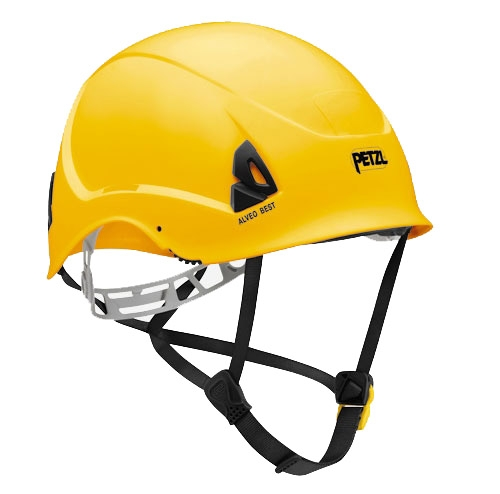 Каска Petzl Alveo Best Yellow - Фото 1 большая