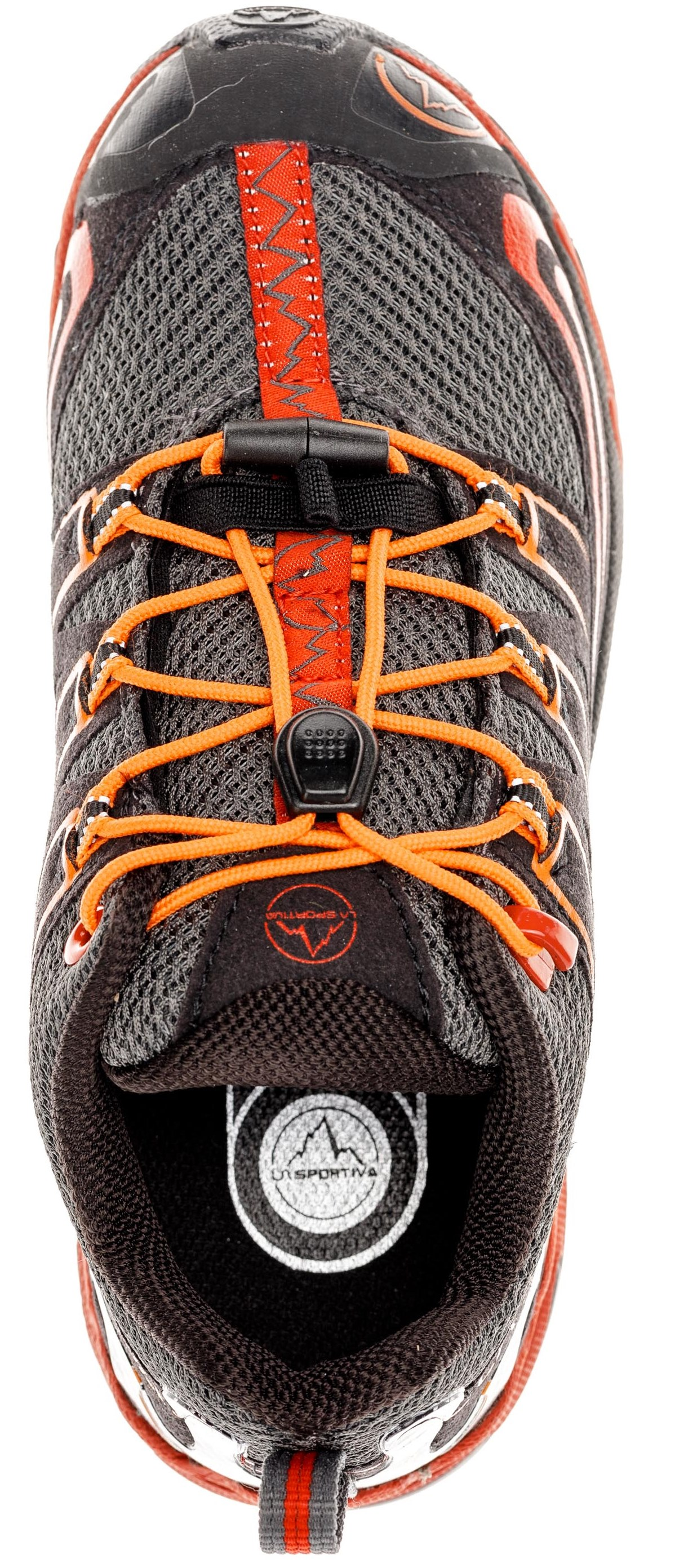 Ботинки детские La Sportiva Falkon Low Carbon/Flame - Фото 4 большая