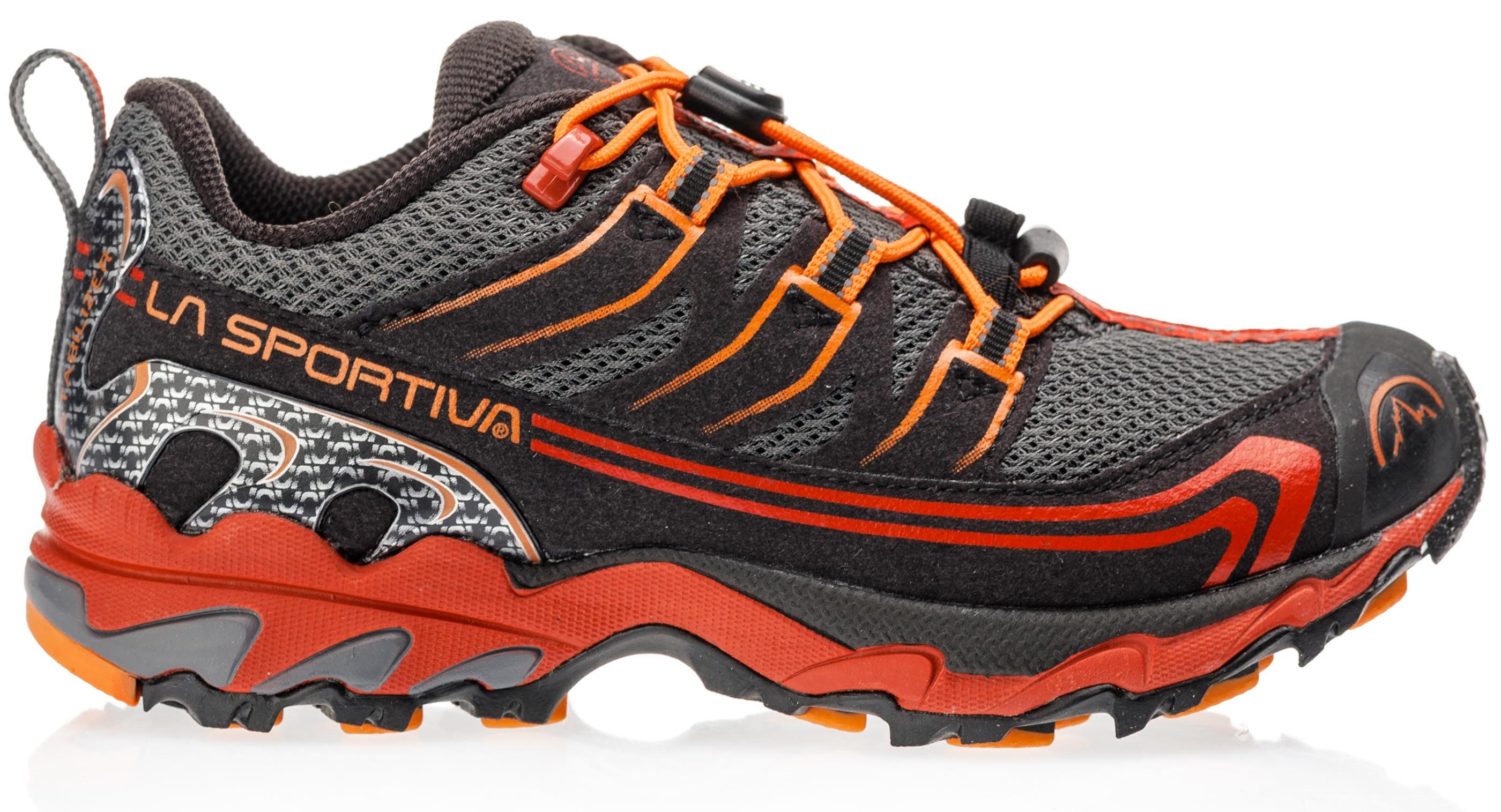 Ботинки детские La Sportiva Falkon Low Carbon/Flame - Фото 1 большая