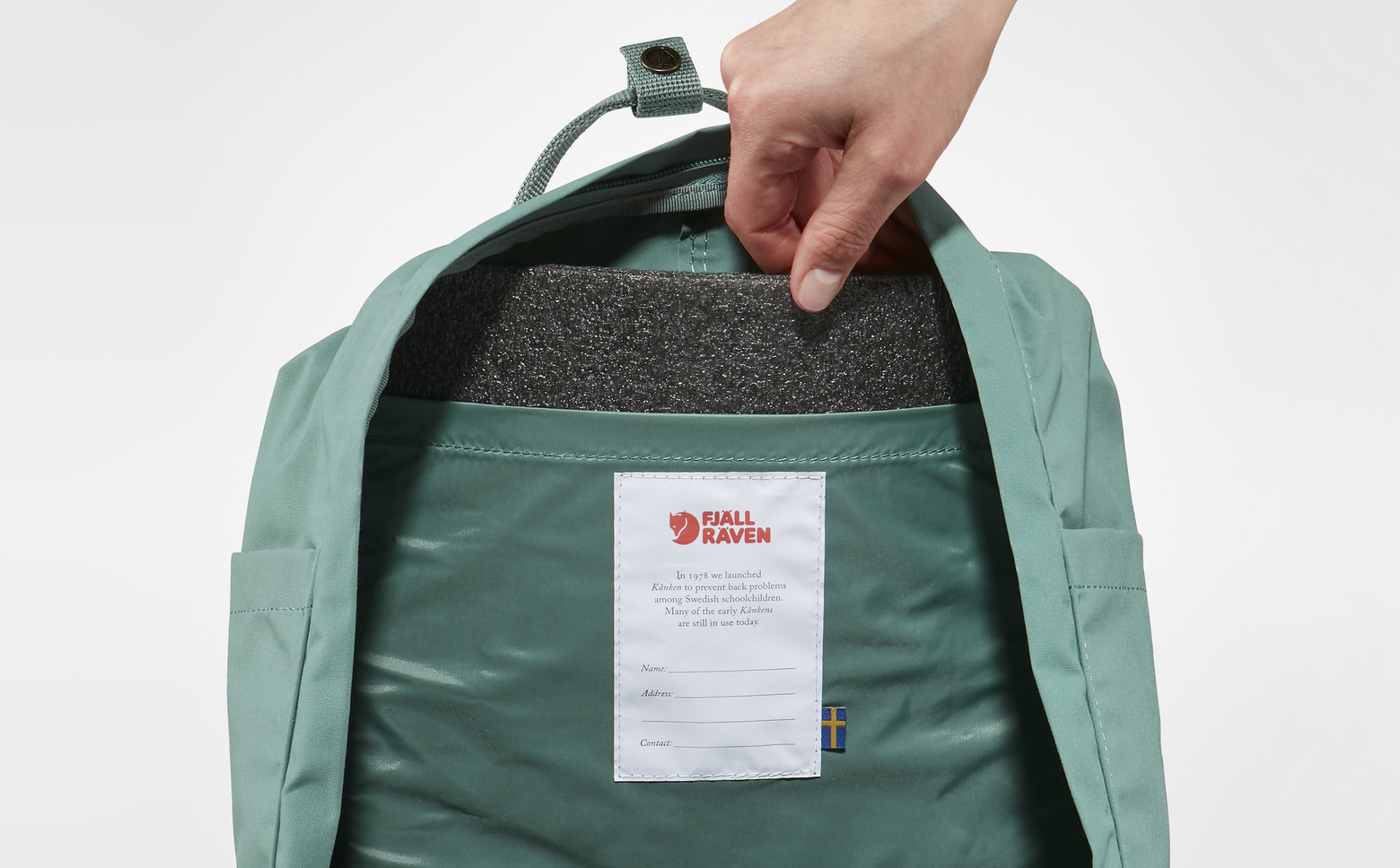 Рюкзак Fjallraven Kanken Leaf Green - Фото 2 большая