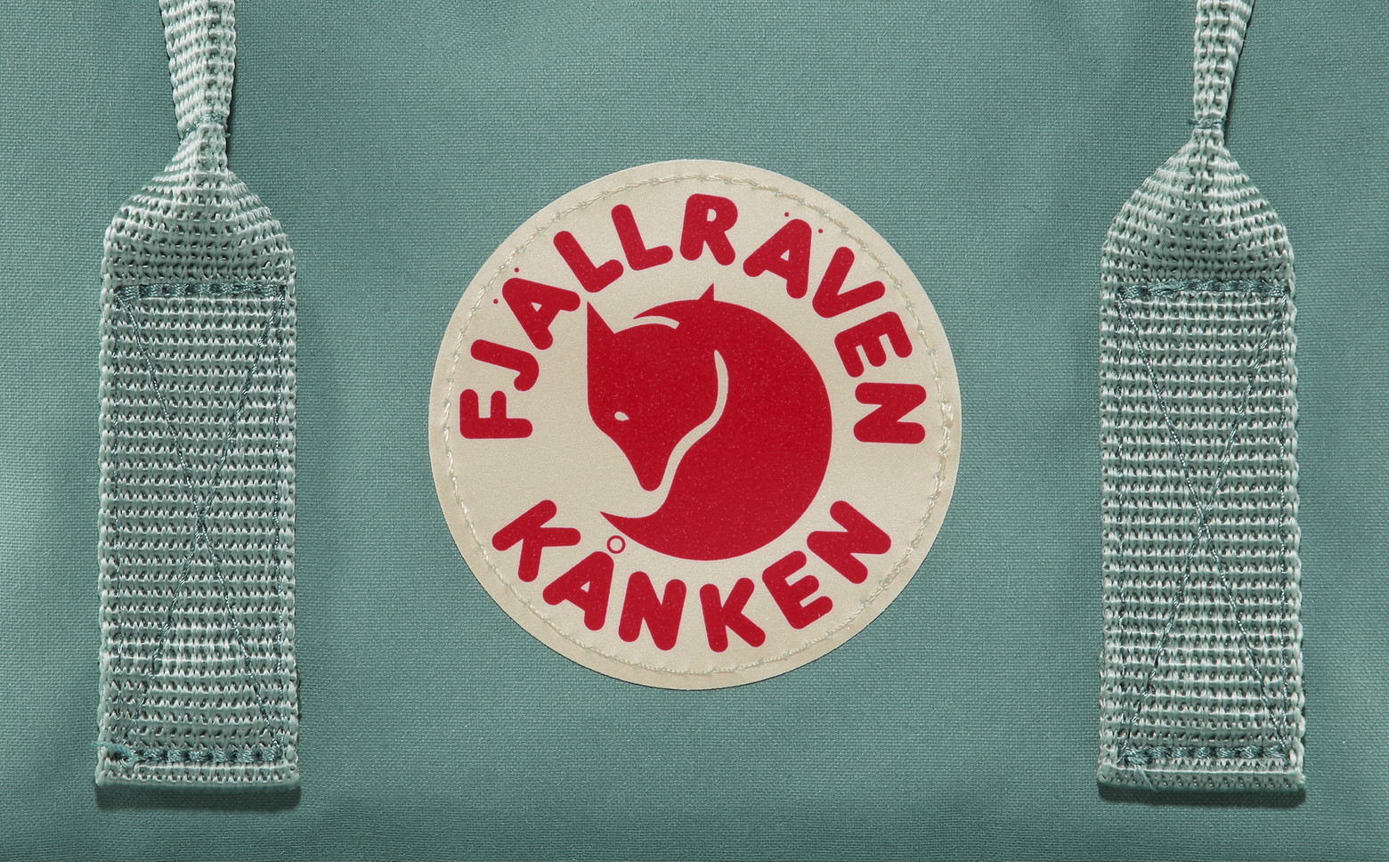 Рюкзак Fjallraven Kanken Leaf Green - Фото 6 большая