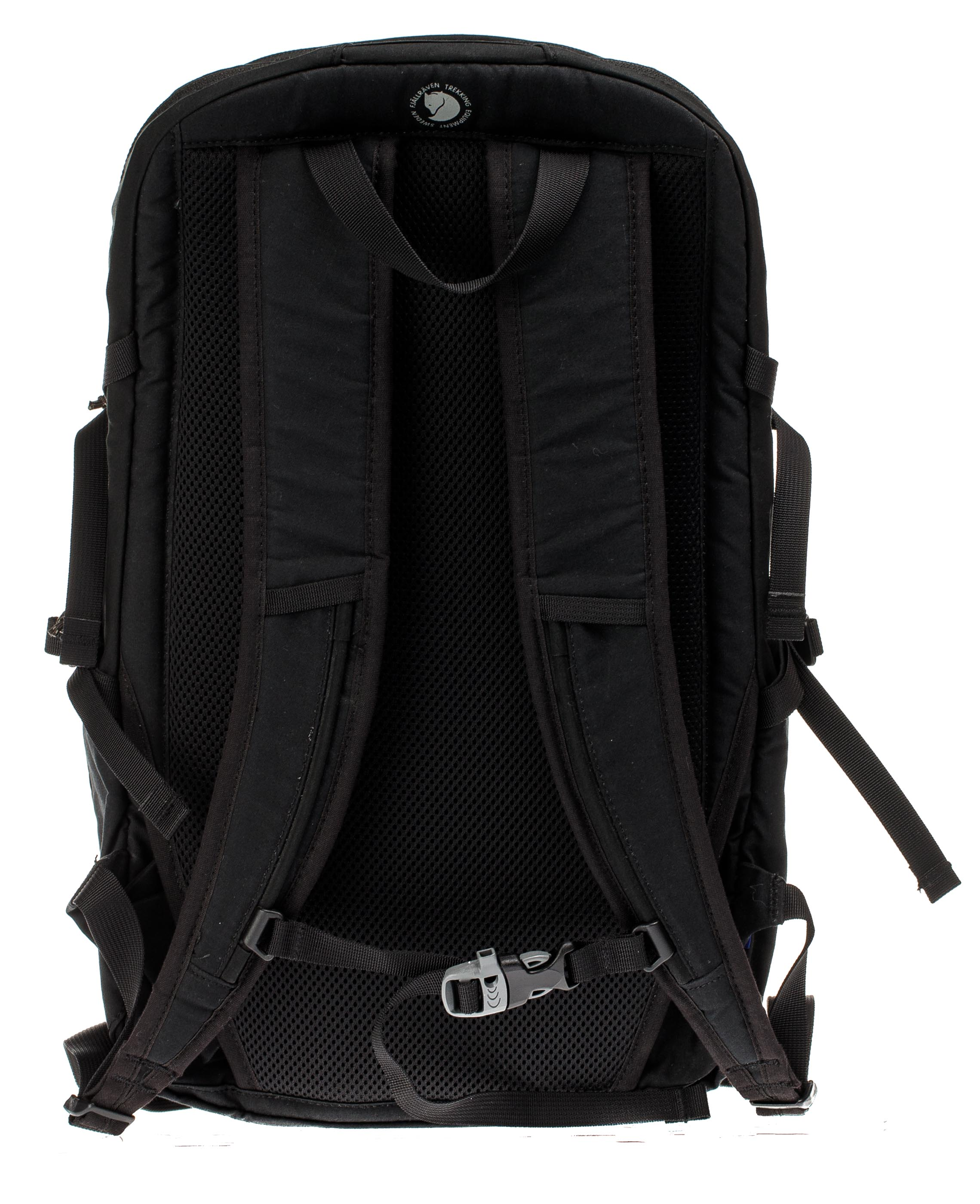 Рюкзак Fjallraven High Coast Trail 26 Black - Фото 3 большая