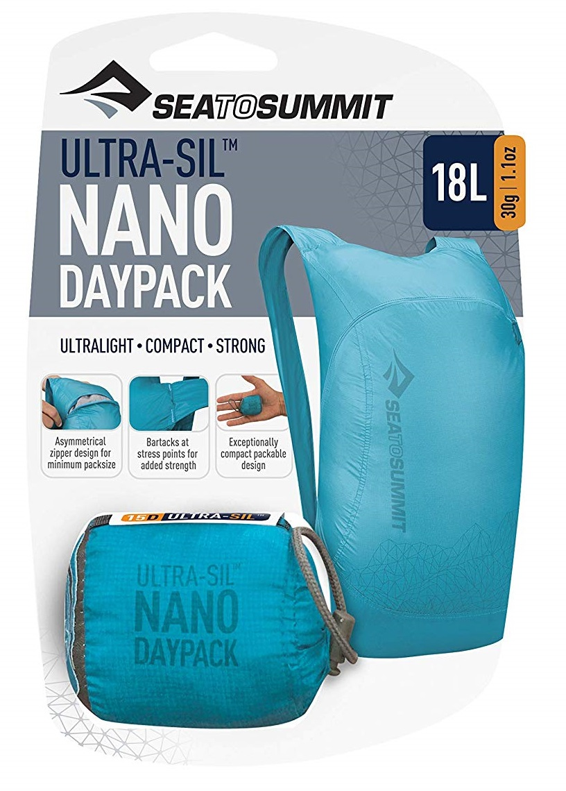 Рюкзак Sea to Summit Ultra-Sil Nano Day Pack Red - Фото 6 большая