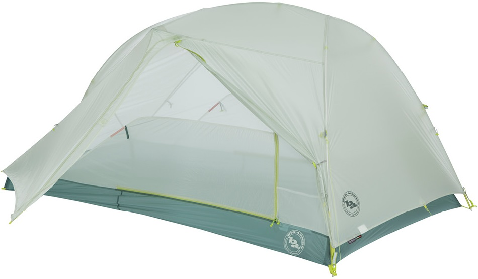 Палатка Big Agnes Tiger Wall 2 Platinum Gray/Blue - Фото 2 большая