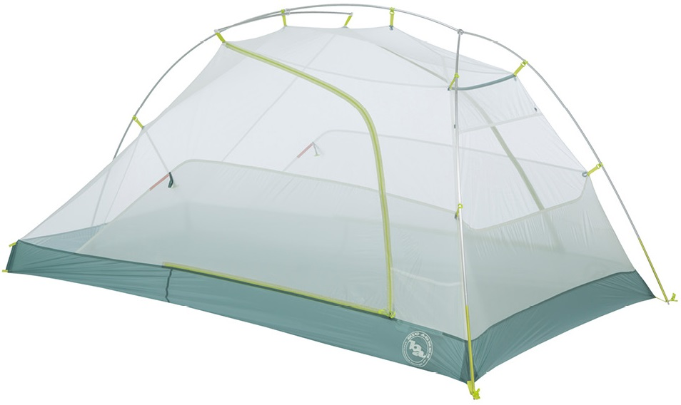 Палатка Big Agnes Tiger Wall 2 Platinum Gray/Blue - Фото 3 большая