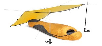 Тент Rab Siltarp 1 Yellow - Фото 1 большая
