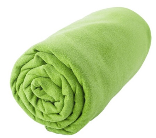 Полотенце Sea to Summit DryLite Towel Antibacterial lime S - Фото 1 большая