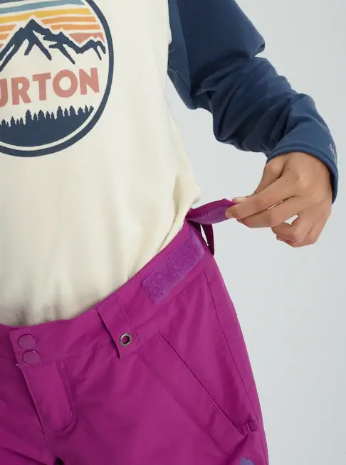 Брюки детские Burton Girls Sweetart Grapeseed - Фото 6 большая