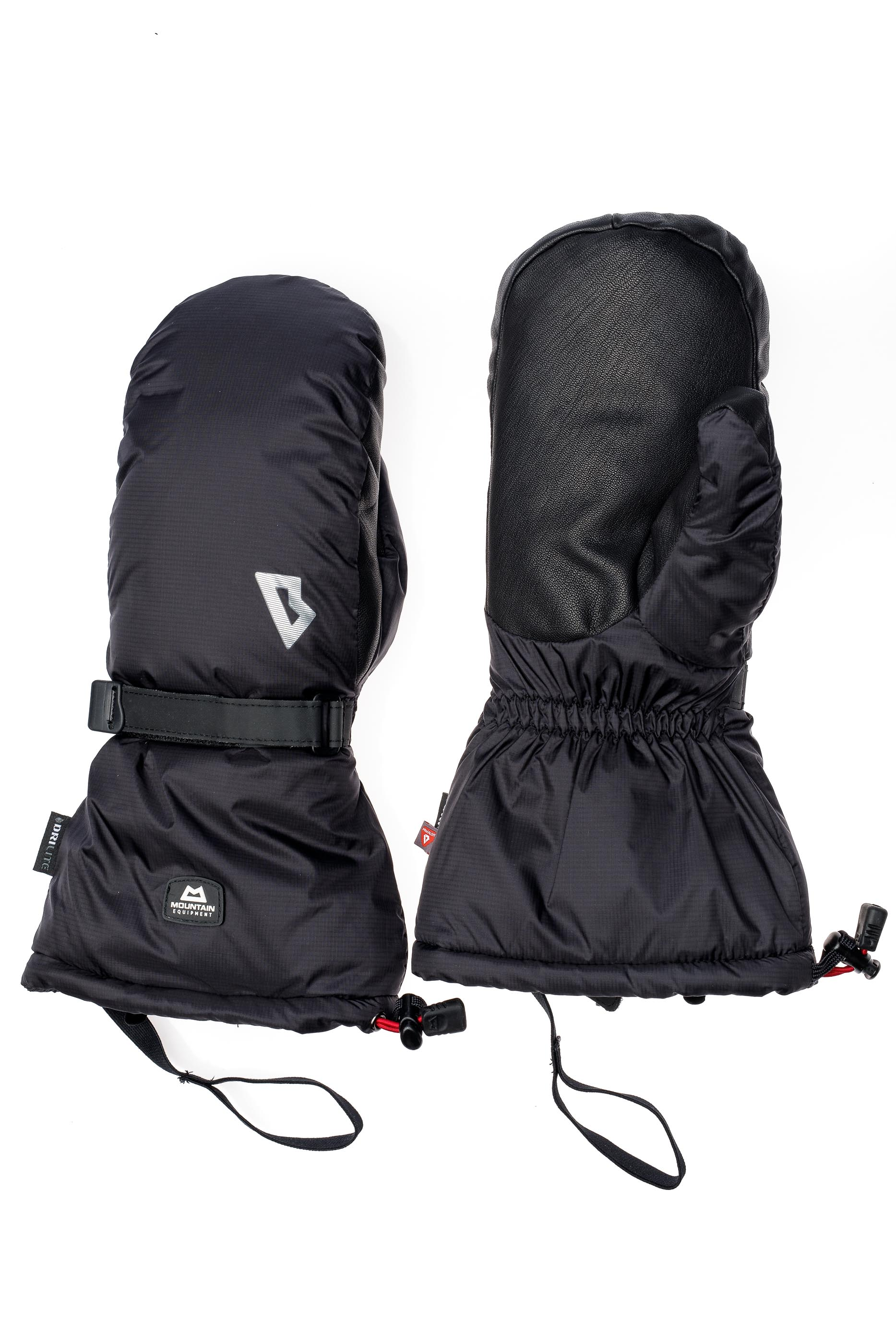 Варежки Mountain Equipment Redline Black - Фото 2 большая