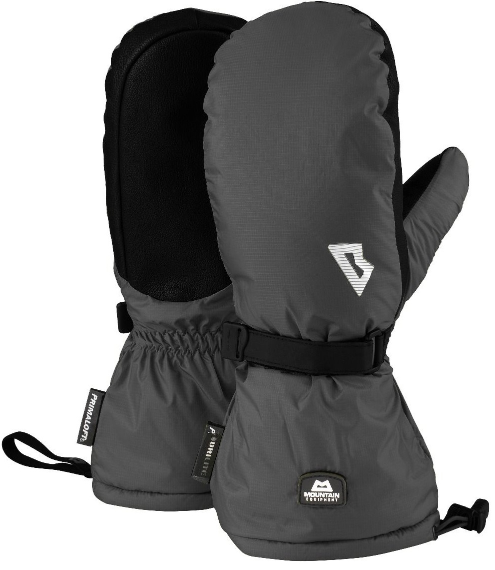 Варежки Mountain Equipment Redline Black - Фото 1 большая