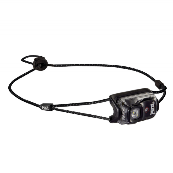 Фонарь налобный Petzl Bindi Black - Фото 1 большая