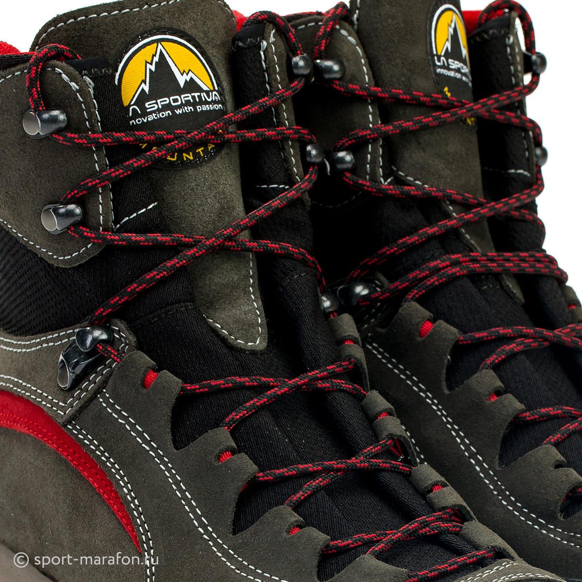 9e228d1c Ботинки La Sportiva Trango Trek Micro Evo Gtx Anthracite/Red - Фото 8  большая