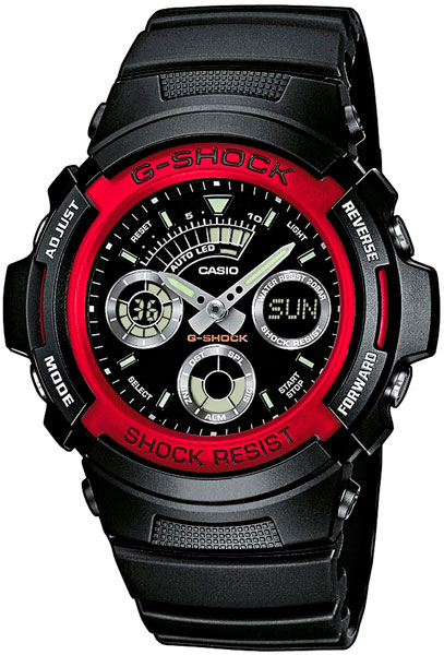 Часы Casio G-Shock AW-591-4A - Фото 1 большая