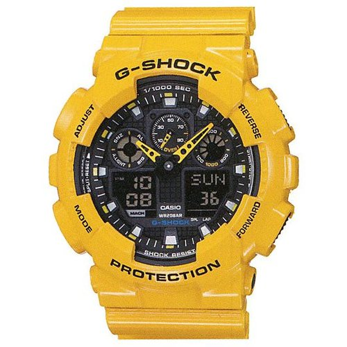 Часы Casio G-Shock GA-100A-9A - Фото 1 большая