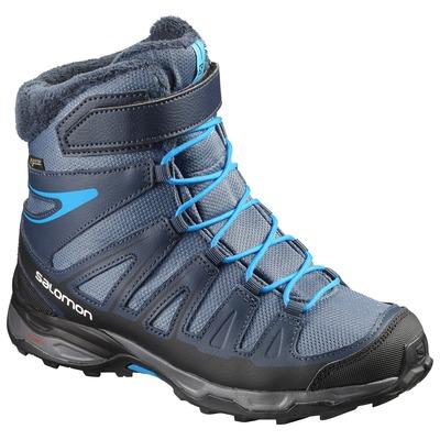 Самые цепкие детские зимние ботинки Salomon X-Ultra Winter Gtx