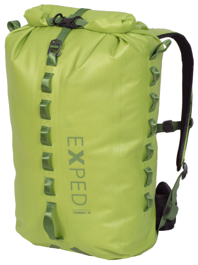 Гермомешок Exped Torrent 30 Lime - Фото 1 большая