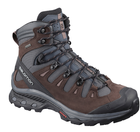 Ботинки женские Salomon Quest 4D 3 Gtx Ebony/Chocolate - Фото 1 большая