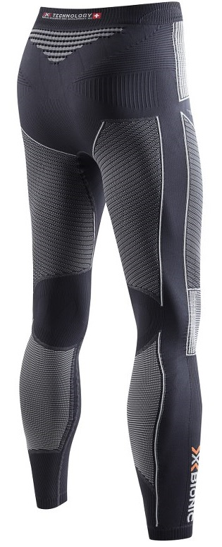 Кальсоны мужские X-Bionic Energy Accumulator EVO Long Charcoal/Pearlgrey - Фото 2 большая