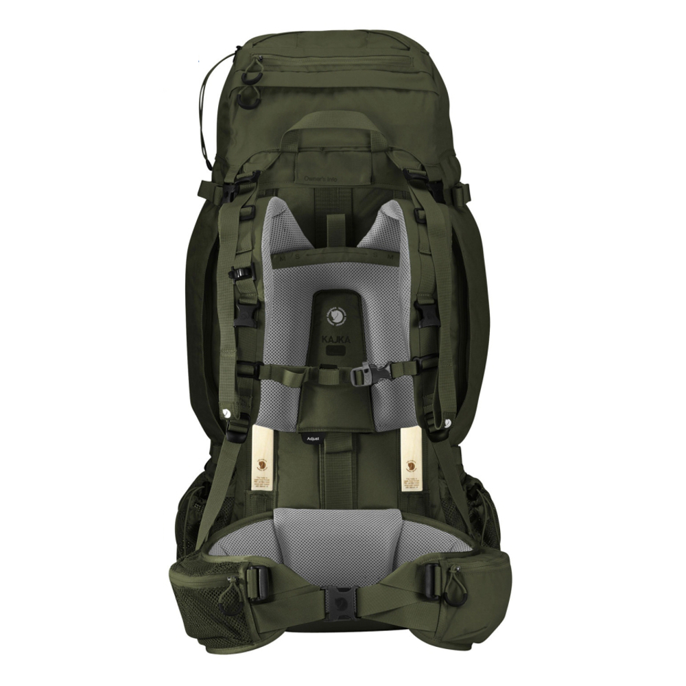 Рюкзак Fjallraven Kajka 75 Forest Green - Фото 2 большая