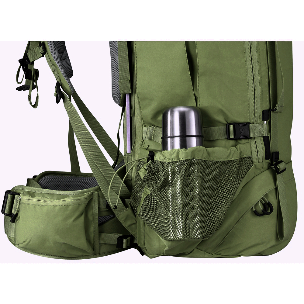 Рюкзак Fjallraven Kajka 75 Forest Green - Фото 5 большая