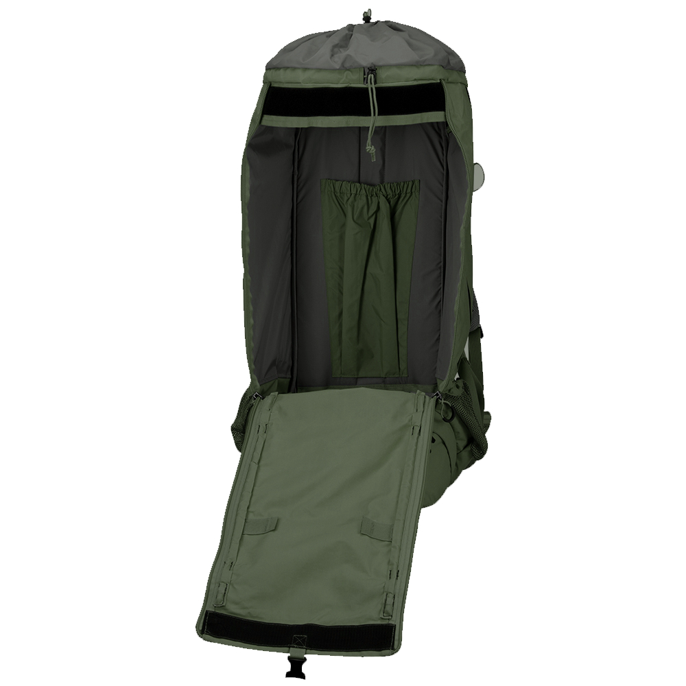 Рюкзак Fjallraven Kajka 75 Forest Green - Фото 6 большая