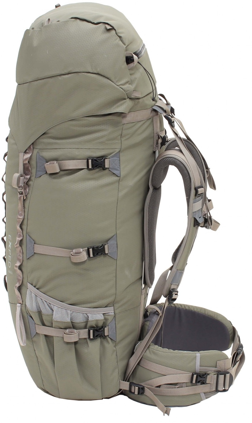 Рюкзак Exped Expedition 100  Black - Фото 2 большая