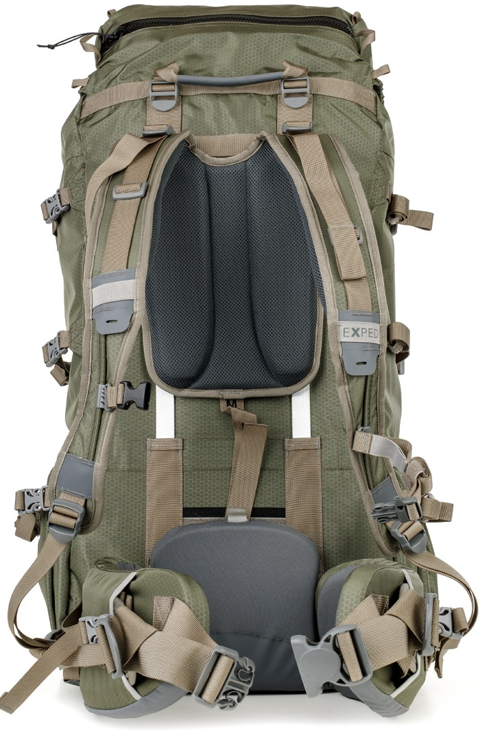 Рюкзак Exped Expedition 100  Black - Фото 3 большая