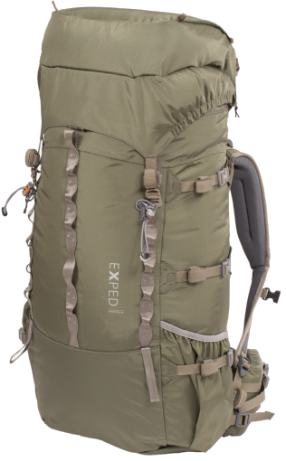 Рюкзак Exped Expedition 80 Olive Grey - Фото 1 большая