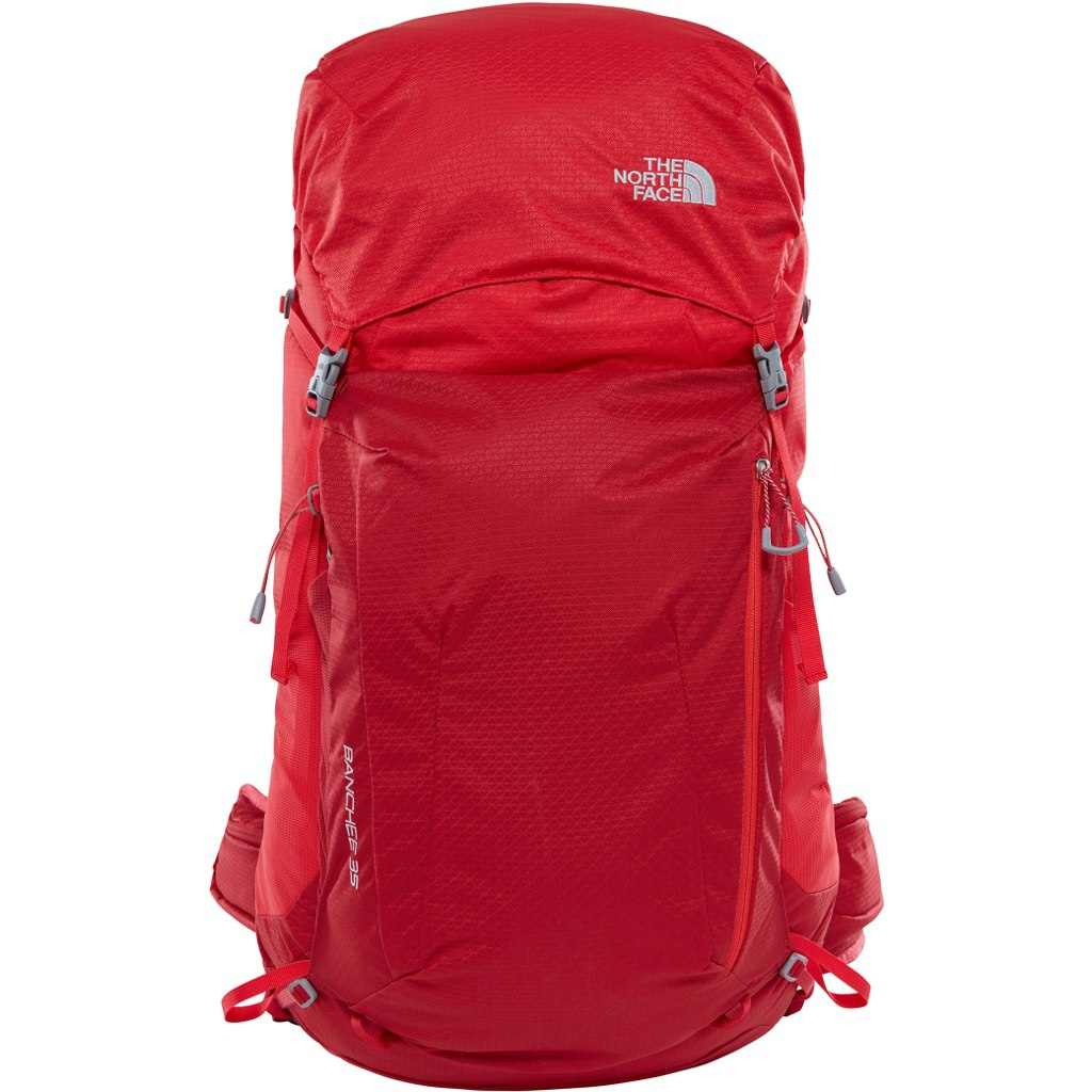 Рюкзак The North Face Banchee 35 Rage Red/High Risk Red - Фото 1 большая