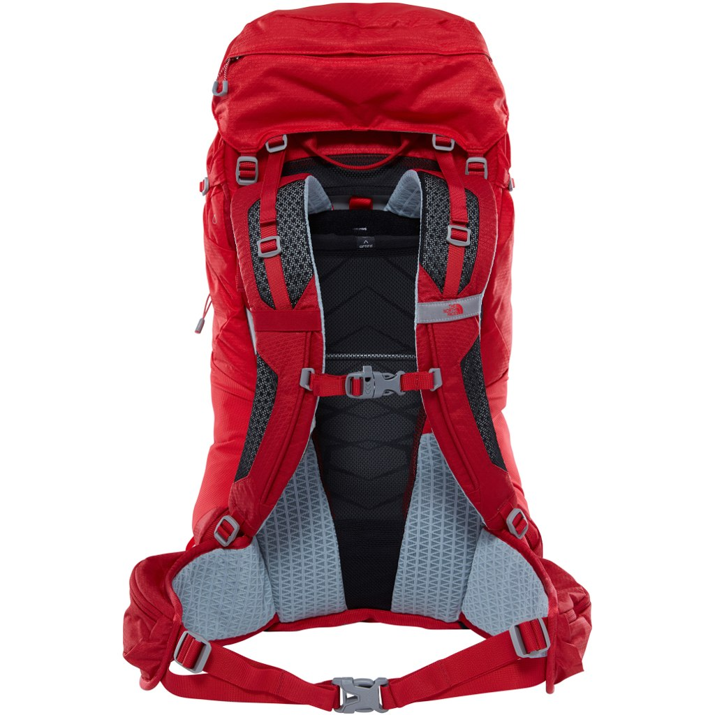 Рюкзак The North Face Banchee 35 Rage Red/High Risk Red - Фото 2 большая
