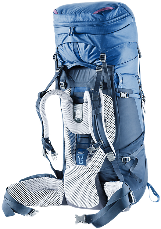 Рюкзак Deuter Aircontact 75 + 10 Midnight-Navy - Фото 4 большая