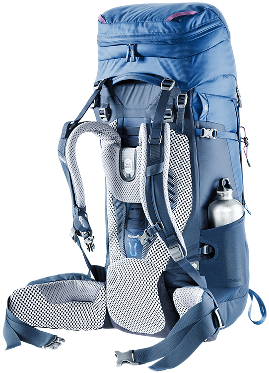Рюкзак Deuter Aircontact 75 + 10 Midnight-Navy - Фото 7 большая