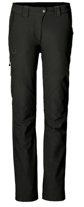 Брюки женские Jack Wolfskin Chilly Track XT Short Black - Фото 1 большая