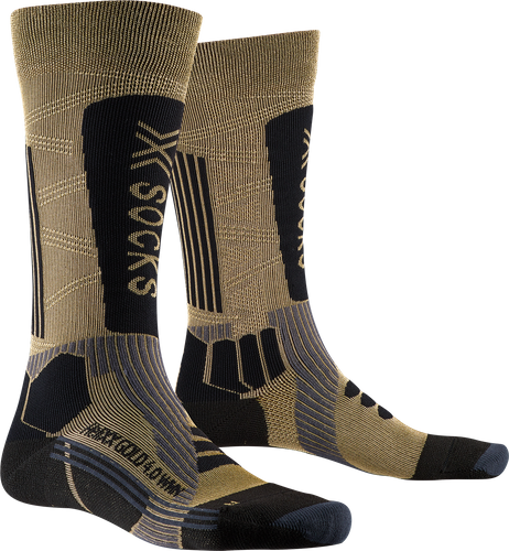 Носки женские X-Socks Helixx Gold Wmn 4.0 Gold/Black - Фото 1 большая