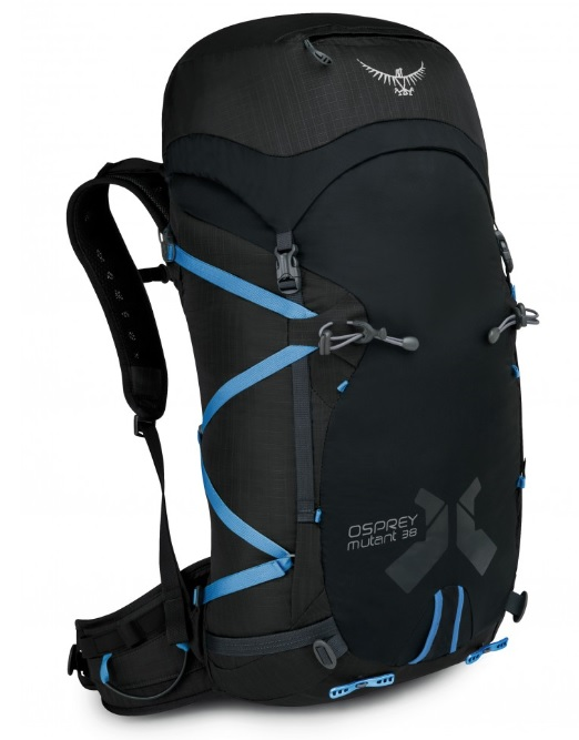 Рюкзак Osprey Mutant 38 Gritstone Black - Фото 1 большая